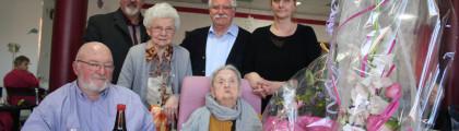 Wignehies: Maria Louvet fête 103 ans de longévité et de petits rituels, café, bière et télé
