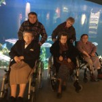 Devant les aquarium – musée de la mer ETAPLES